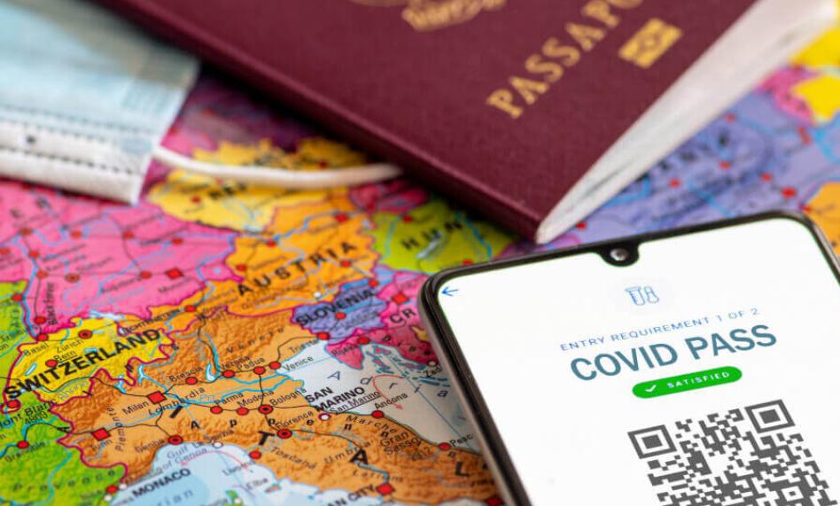 Италия начнет выдачу и прием паспортов ЕС COVID-19 с 15 июня